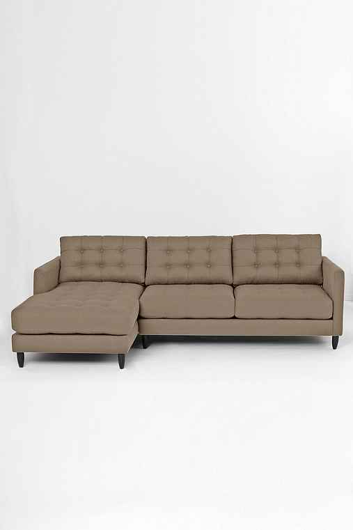 Jackson Left Sectional Sofa,BROWN,LEFT