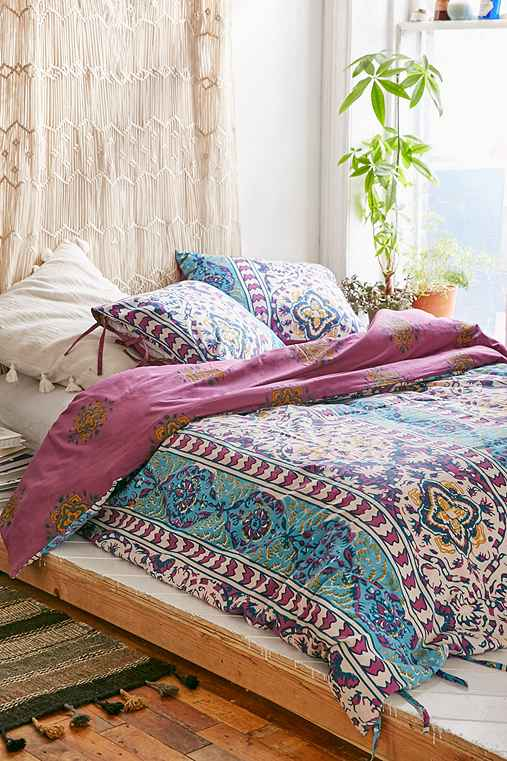 Magical thinking boho stripe duvet cover urban outfitters Magical thinking bedding