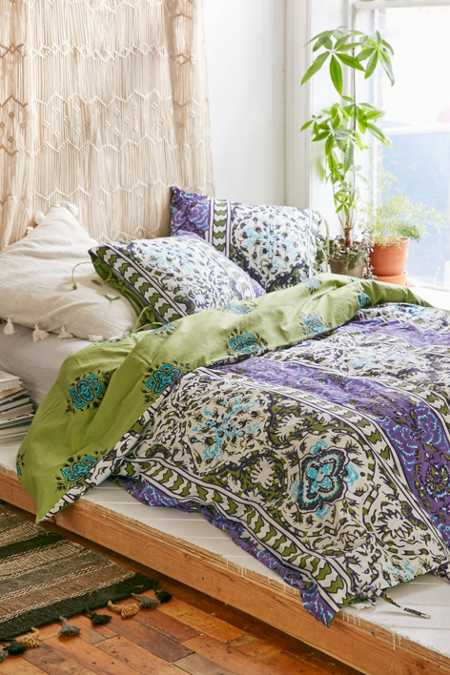Magical Thinking Boho-Stripe Duvet Cover