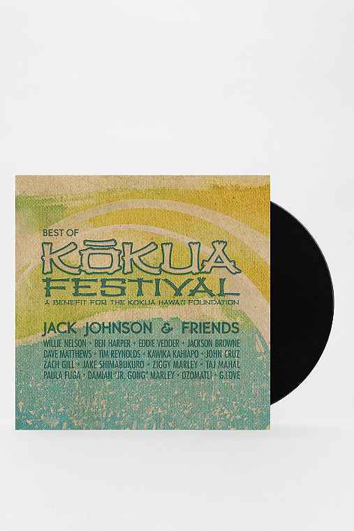 Jack Johnson & Friends: Best of Kokua Festival 2XLP