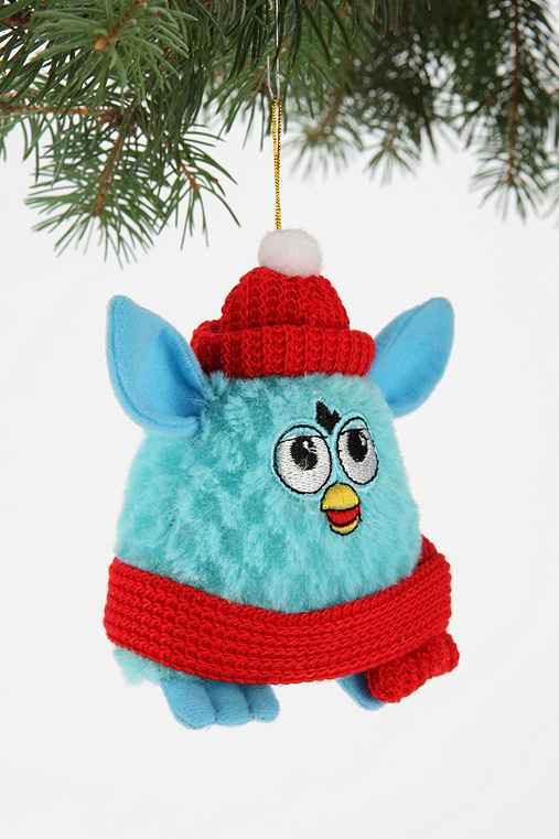 Kurt Adler Furby Plush Ornament