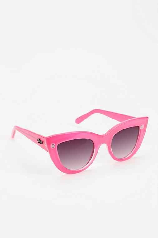 Quay Kittie Cat-Eye Sunglasses