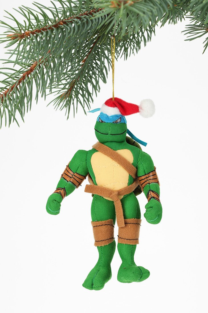 Kurt Adler Teenage Mutant Ninja Turtles Plush Ornament