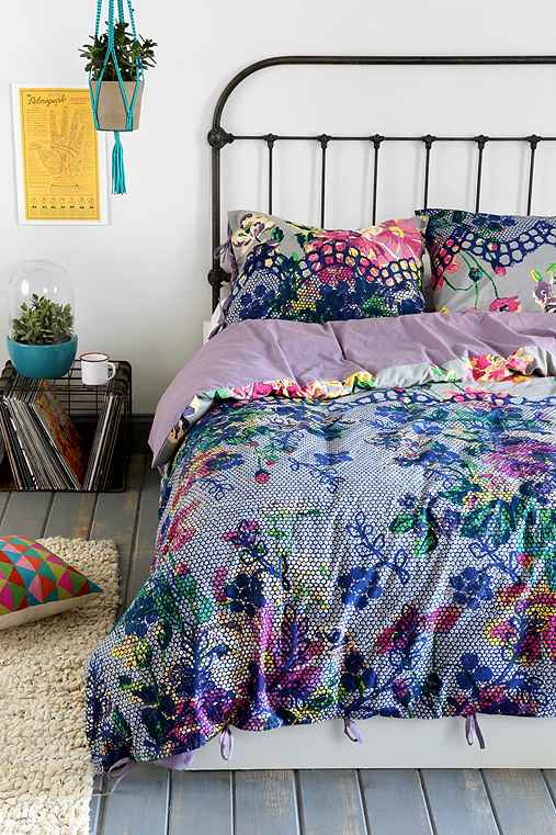 Plum Amp Bow Edith Duvet Cover Urban Outfitters