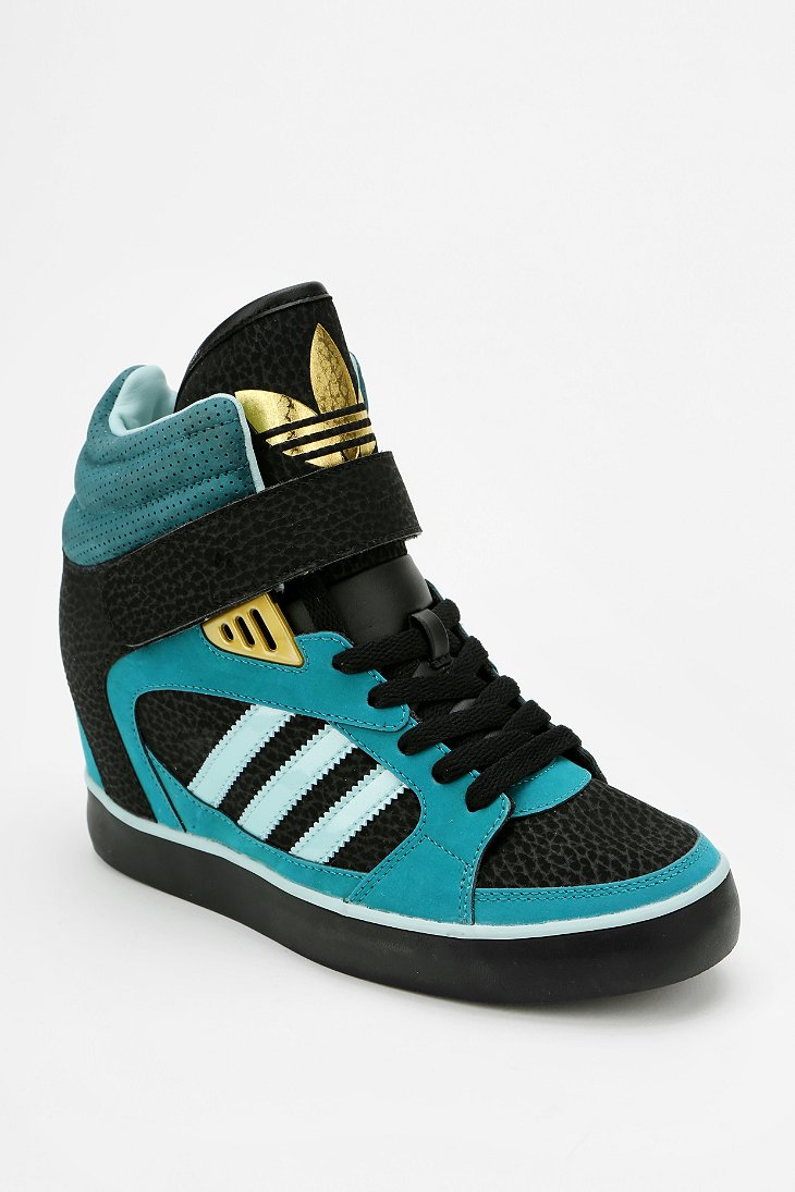 adidas amberlight hidden wedge high top sneaker urban outfitters. Black Bedroom Furniture Sets. Home Design Ideas