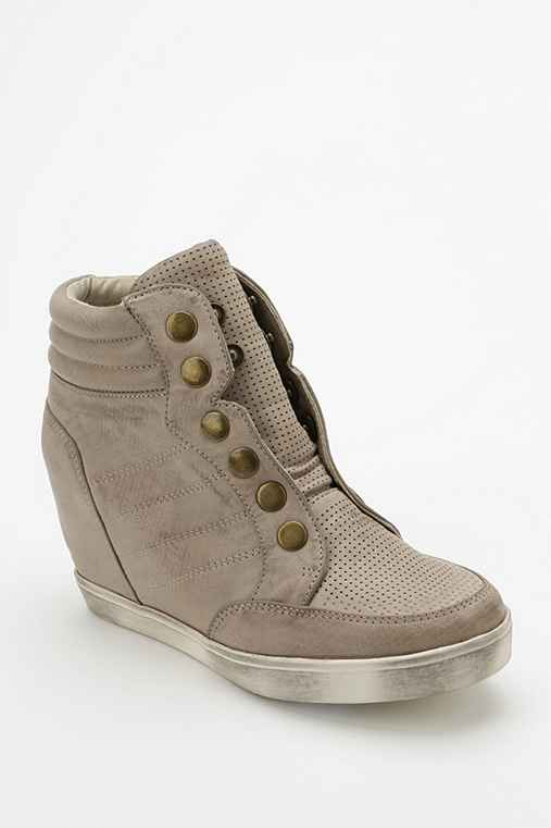 MIA Flavor Snap Hidden Wedge High-Top Sneaker