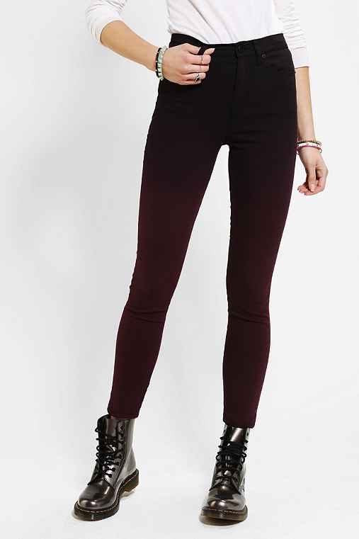 BDG Twig High-Rise Jean - Berry Ombre