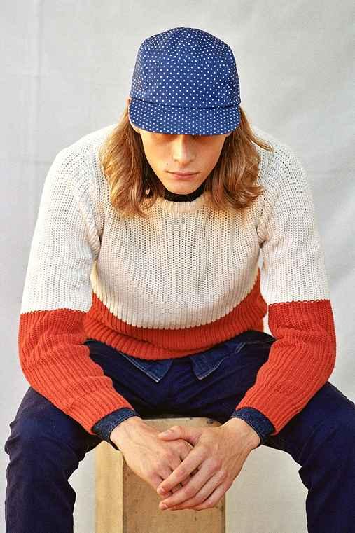 CPO Colorblock Shaker Sweater