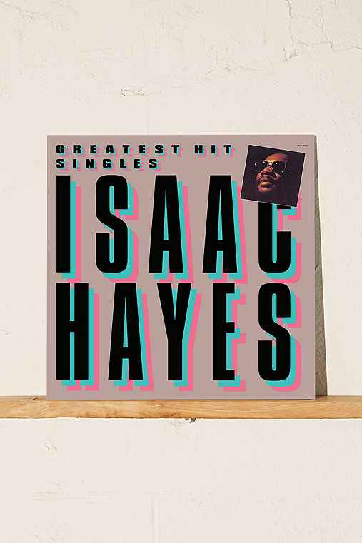 Isaac Hayes - Greatest Hit Singles LP,ASSORTED,ONE SIZE