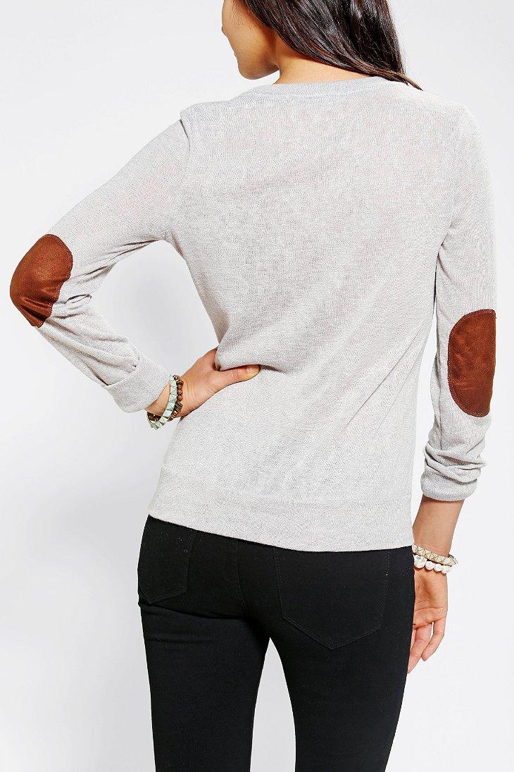 Glamorous Slub Elbow Patch Shirt