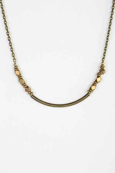 Vanessa Mooney Little Ways Anti-Bronze Nugget Necklace