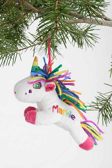 Lisa Frank Plush Ornament