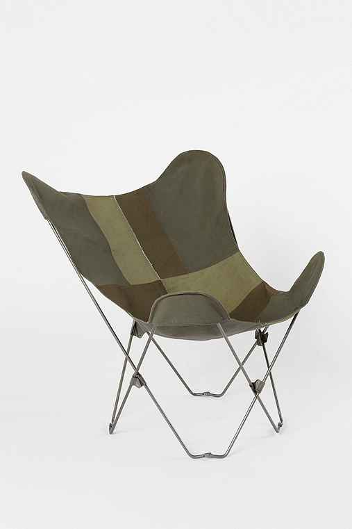 Canvas Butterfly Chair Urban Outfitters