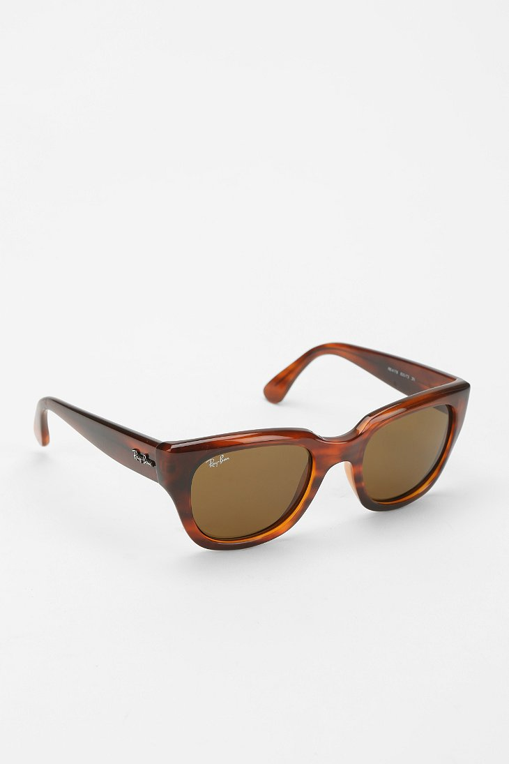 ray ban thick cat eye sunglasses urban outfitters. Black Bedroom Furniture Sets. Home Design Ideas