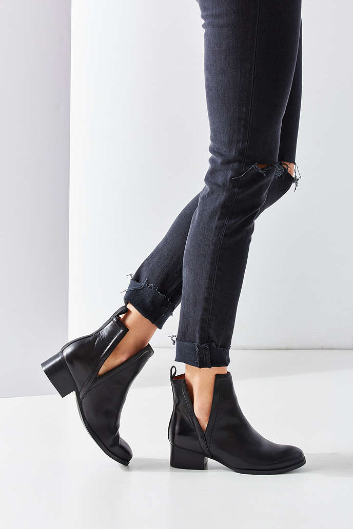 Jeffrey Campbell Oriley Cutout Ankle Boot - Urban Outfitters