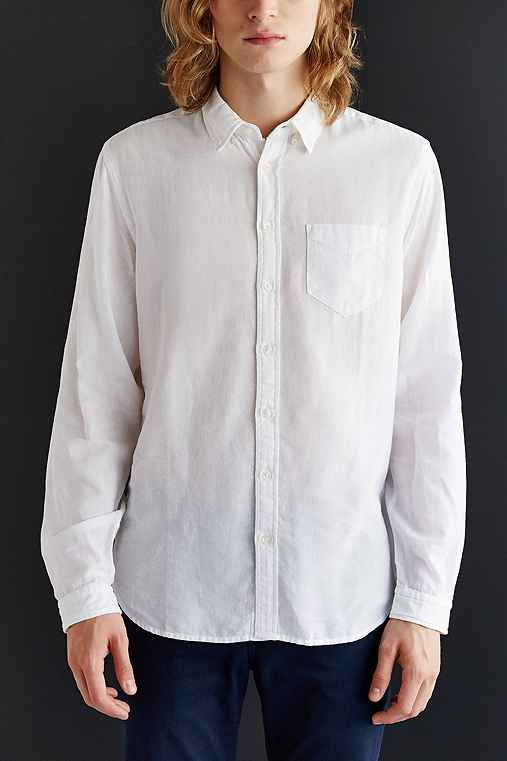 CPO Stevens Overdyed Shirt,WHITE,L
