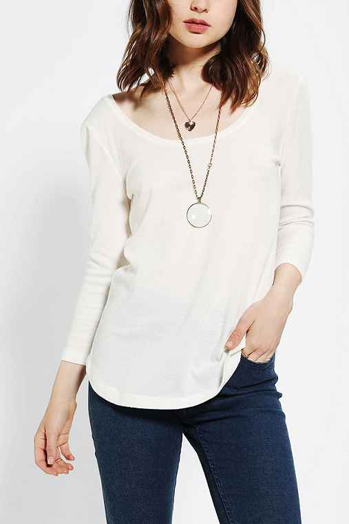 BDG Winterlite Scoopneck Shirt