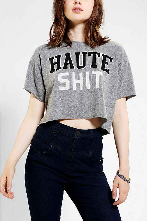 Truly Madly Deeply Haute Cropped Top