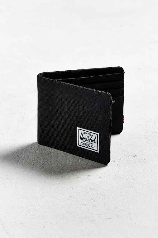 Herschel Supply Co. Roy Bi-Fold Wallet,BLACK,ONE SIZE