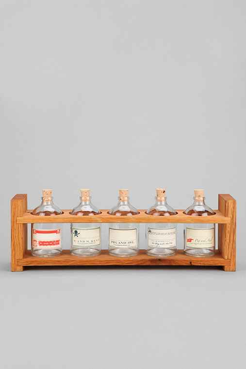 Peg And Awl Apothecary Spice Rack