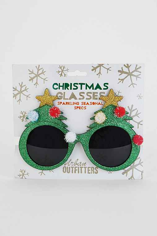 Holiday Tree Glasses