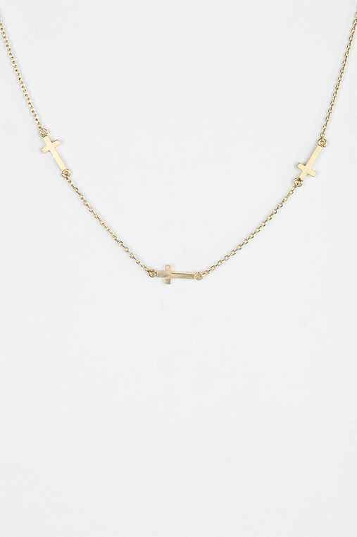 Delicate Geometry Necklace