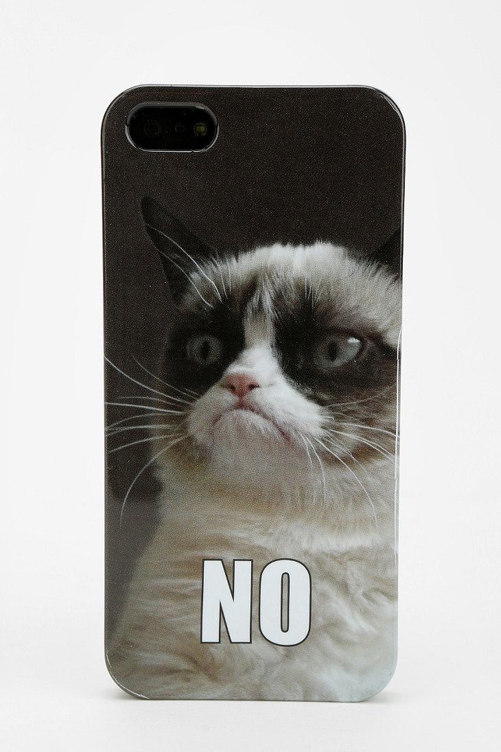 Grumpy Cat iPhone 5/5s Case - Urban Outfitters