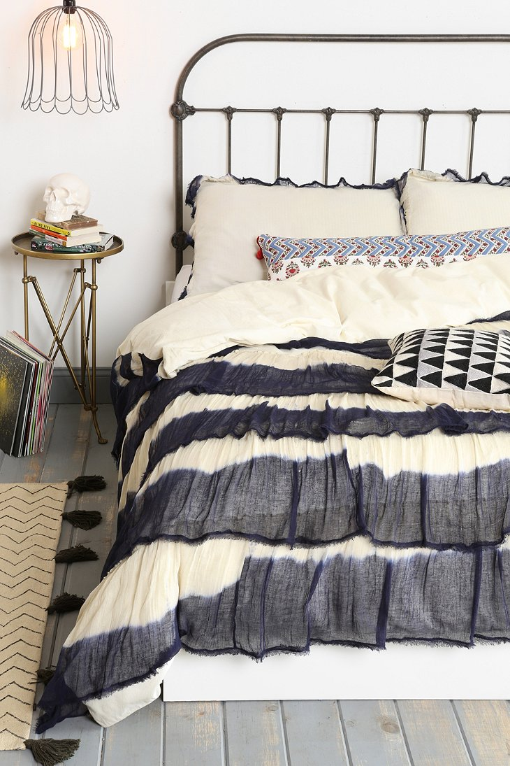 Noodle Boho Ruffle Duvet Cover Urban Outfitters