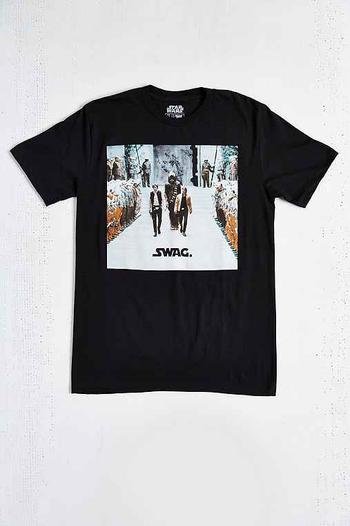 Star Wars Swag Tee,BLACK,M