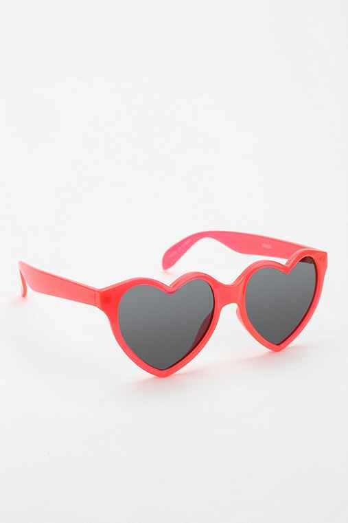 Bisou Heart Sunglasses