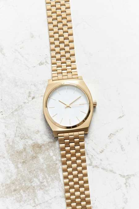 Nixon Time Teller Rose Gold Watch