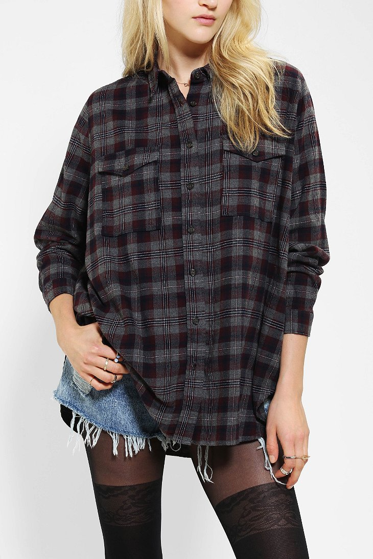 Women Plaid Shirt