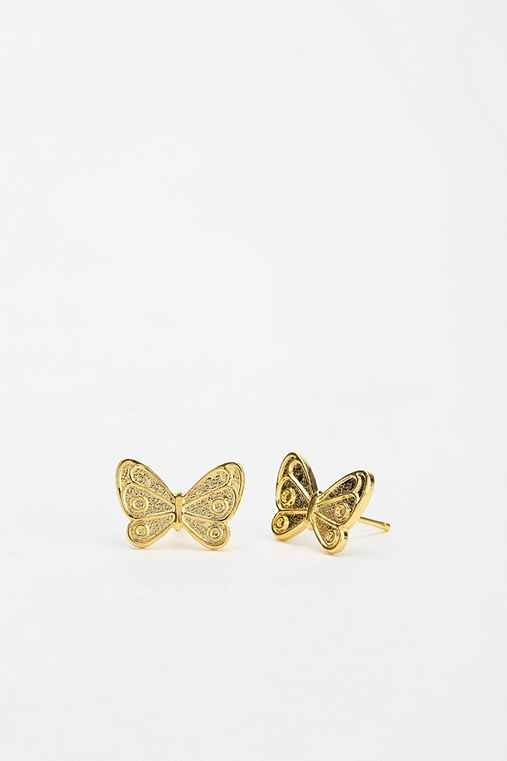 Diament Jewelry X Urban Renewal Butterfly Stud Earring