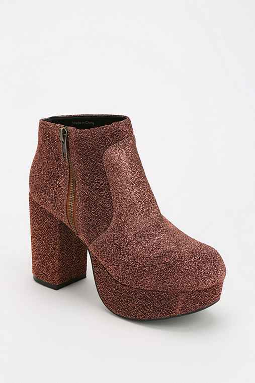 Ecote Disco Platform Ankle Boot