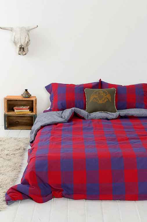 4040 Locust Buffalo Plaid Duvet Cover