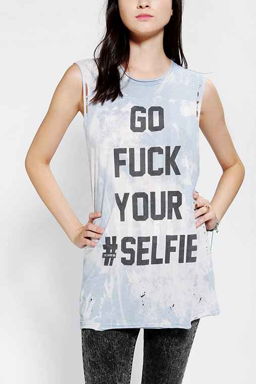 The Laundry Room X UO F# Your Selfie Muscle Tee