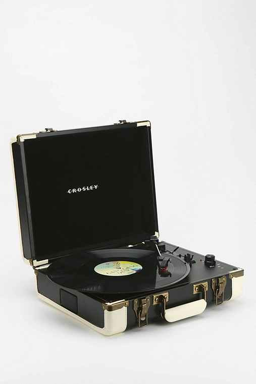 Crosley Executive Usb Portable Vinyl Record Player Urban