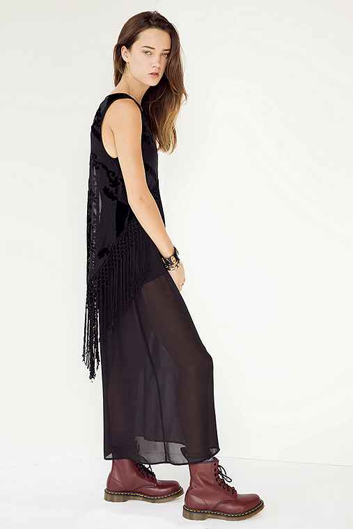 ARTS THREAD X UO Charlotte Fringe Maxi Dress