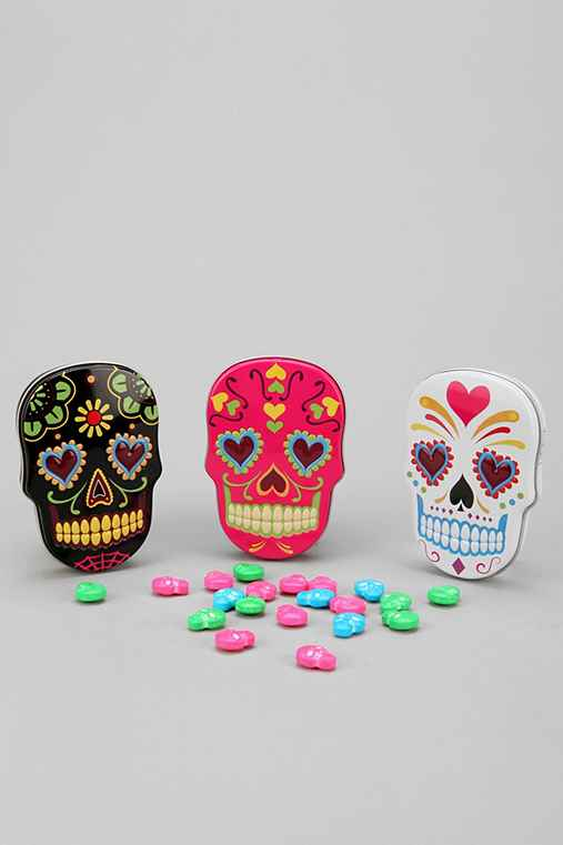 Sugar Skull Candy Tin