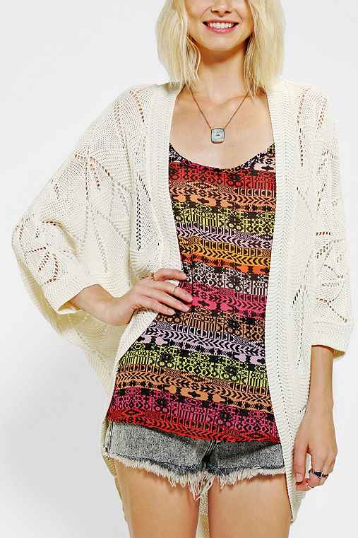 Staring At Stars Teardrop Pointelle Cardigan