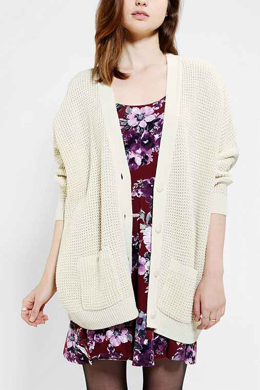 Coincidence & Chance Waffle-Knit Cardigan