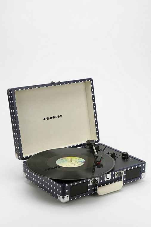 Crosley X UO Cruiser Briefcase Printed Portable Record Player