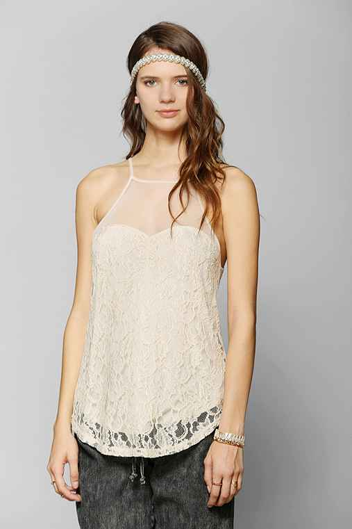Kimchi Blue Sweetheart Lace Tank Top