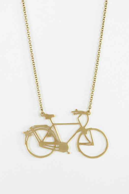 Monserat De Lucca Bicycle Necklace