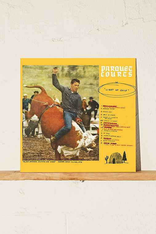 Parquet Courts - Light Up Gold LP,ASSORTED,ONE SIZE