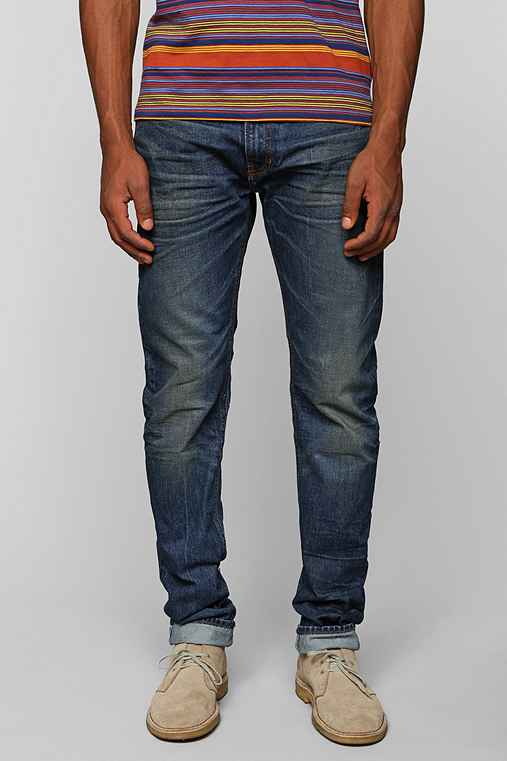 Lee 101B Lean Straight Selvedge Jean