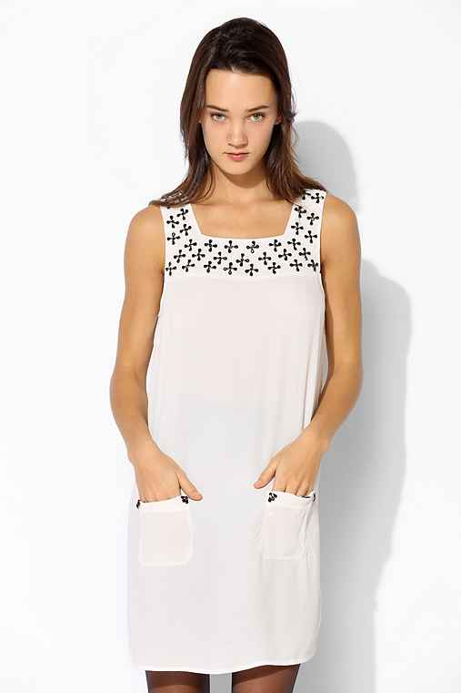 Cooperative Embellished Pinafore Dress