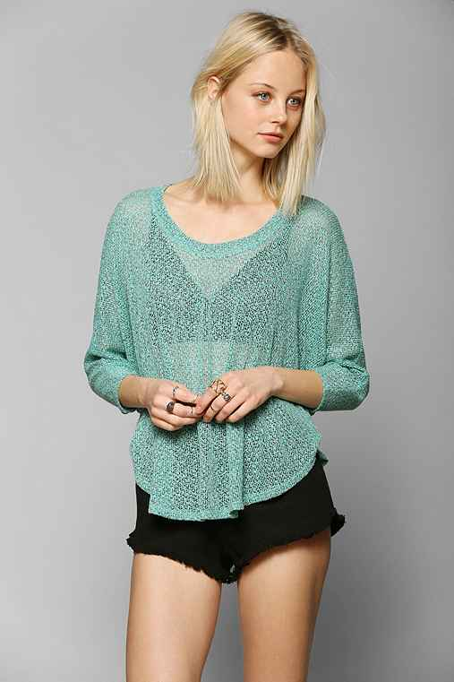 Staring At Stars Swing Cropped Sweater