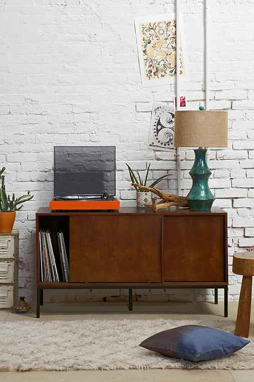 Assembly Home Mid-Century Console, BROWN, ONE SIZE""