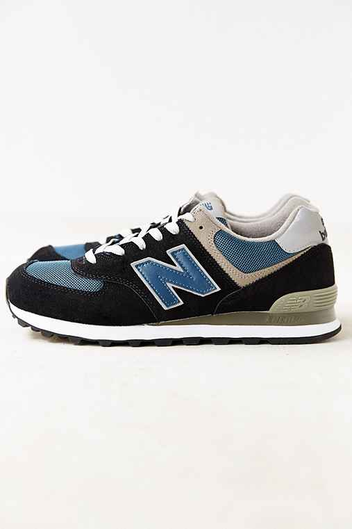 New Balance 574 Core Running Sneaker,DARK BLUE,9.5
